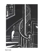 """Le chat (de ""la ville"")"" 1928 Card by Frans Masereel"