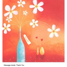"""Thank You"" card by Clare Caddy"