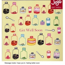 """Get well soon"" card by Josie Sullens"