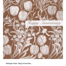 """Happy Anniversary"" Greeting card"