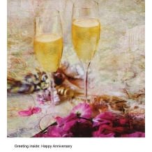 """""""Anniversary Toast"""" card by Marion McConaghie"""