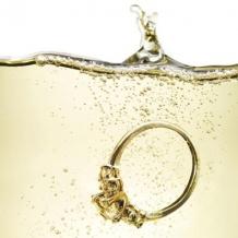 """Champagne Sparkler"" card by Lauren Burke"