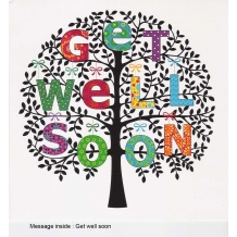 """Get well soon"" card by Paula Doherty"