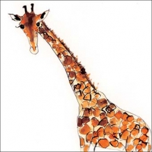 """Giraffe"" Card by Becky Brown"