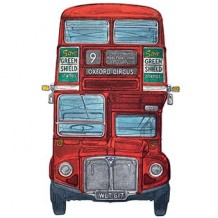 """Routemaster"" card by Barry Goodman"