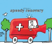 """Speedy Recovery"" get well soon card"