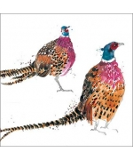 """Pheasants"" by Becky Brown"