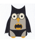 Bat Owl, card by Helen Williams