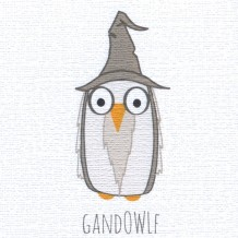Gandowlf, card by Helen Williams