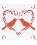 Red Birds, card by Helen Williams