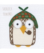 """Sherlock Howlmes,"" card by Helen Williams"
