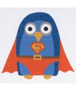 """Super Owl"", card by Helen Williams"