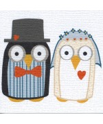 """Wedding Owls"" card by Helen Williams"