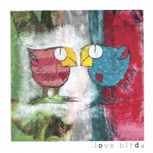 """Love Birds"" card by Lynn Kenny"