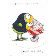 """Wedding Day"" card by Lynn Kenny"