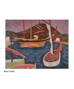 """Boats in Harbour"" by Roger Fry"