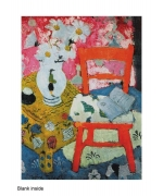 """Still Life with Orange Chair"" by Anne Redpath"