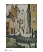 """An Old Street"" by LS Lowry"