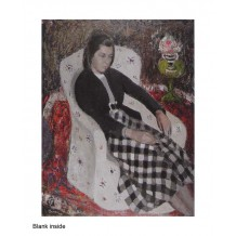 """""""Eileen in a White Chair"""", by Anne Redpath"""