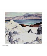 Green Sea, Iona, card from a painting by Samuel John Peploe