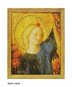 """Head of an Angel"" card from a painting by Fra Giovanni da Fiesole Angelico 15th Century"