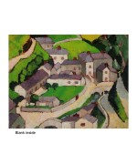 """Boscastle"", card from a painting by Margaret Morris"