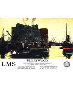 Fleetwood, card from a National Railway Museum poster