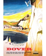 Dover. card from a National Railway Museum poster