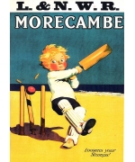 Morecambe loosens your stumps. Card from a National Railway Museum poster