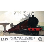 Passenger Express, National Railway Museum card